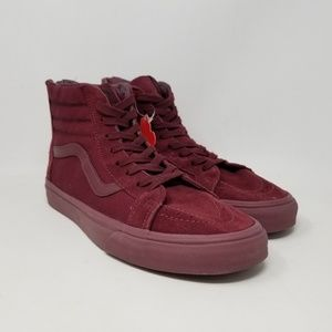 Vans Sk8-Hi Reissue Zip Sneakers Men's US Size 10